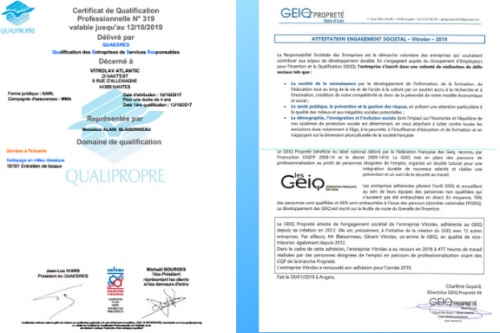 GEIQ & QUALIPROPRE